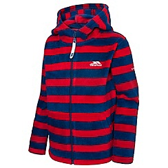 Trespass - Boy's navy dempsie fleece