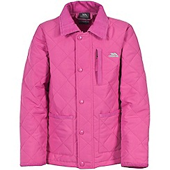 Trespass - Girl's pink dakota jacket