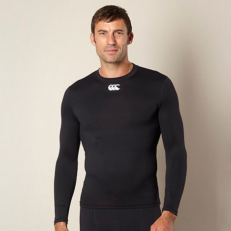 Canterbury - Black long sleeve thermal t-shirt