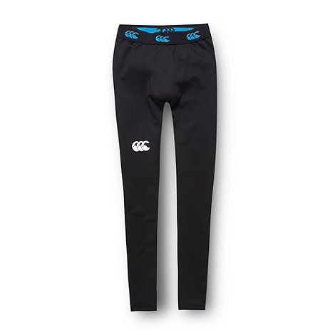 Canterbury - Boy+s black thermal leggings