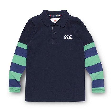 Canterbury - Boy+s long sleeve polo shirt