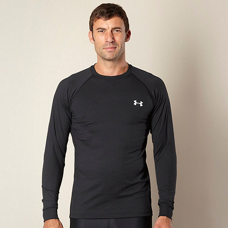 Under Armour - Black technical crew neck top