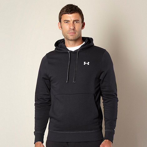 Under Armour - Black pull over hoodie