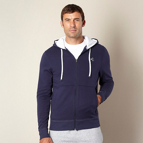 Under Armour - Dark blue fleece lined hoodie