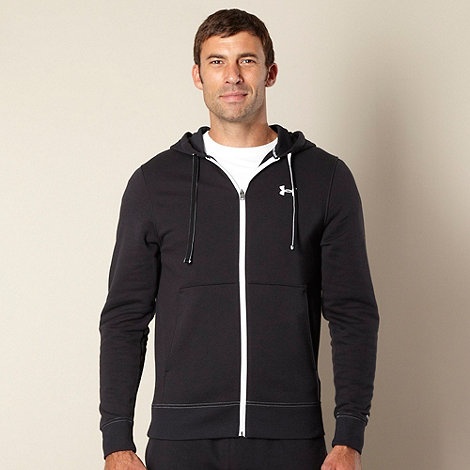 Under Armour - Black zip through hoodie