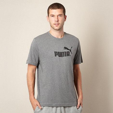 Puma - Grey logo t-shirt