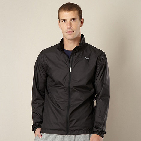 Puma - Black running wind jacket