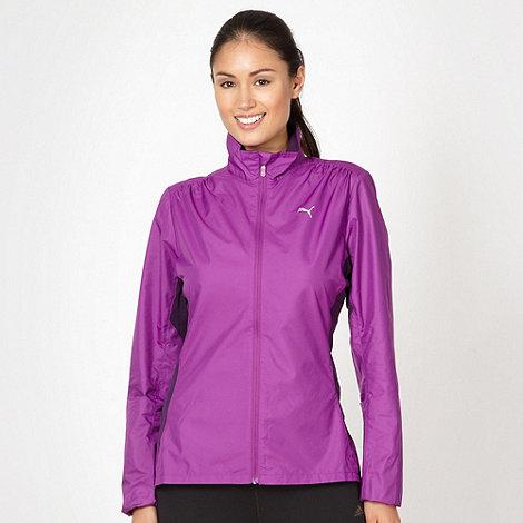 Puma - Purple running jacket