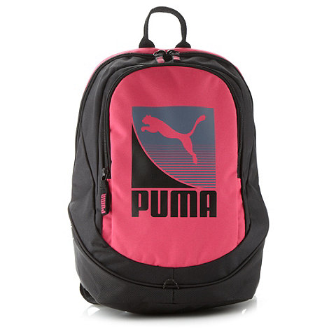 Puma - Pink logo backpack