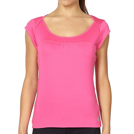 XPG by Jenni Falconer - Pink panelled t-shirt