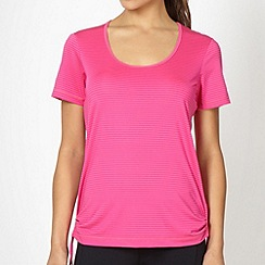 XPG by Jenni Falconer - Pink striped tie side t-shirt