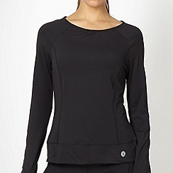 XPG by Jenni Falconer - Black long sleeved training top