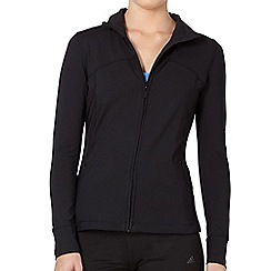 XPG by Jenni Falconer - Black zip through training top