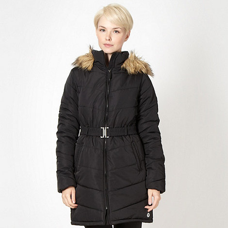 XPG by Jenni Falconer - Black long padded coat
