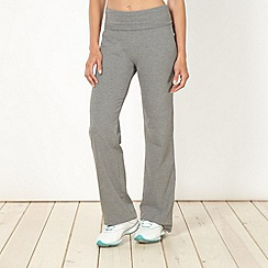 XPG by Jenni Falconer - Grey roll top jogging bottoms