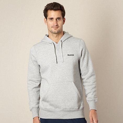 Reebok - Grey fleece lined hoodie
