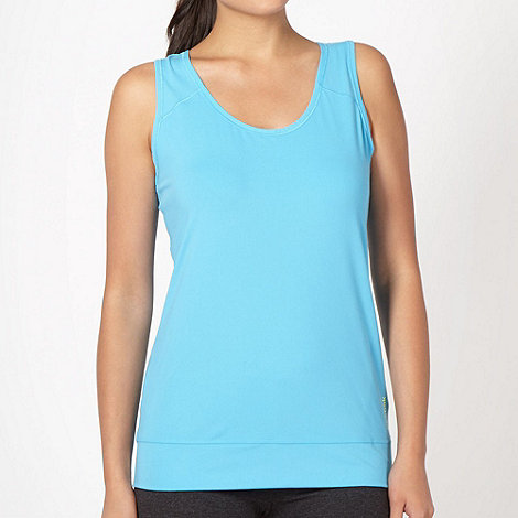 Reebok - Light blue fitness tank top