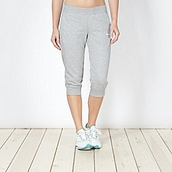 Reebok - Grey sport capri trousers