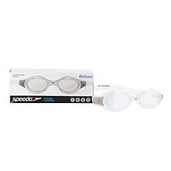 Speedo - White 'Futura Biofuse' swimming goggles