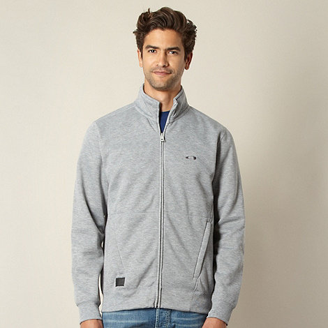 Oakley - Grey funnel neck top