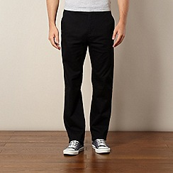 Oakley - Black straight leg trousers