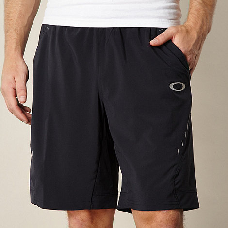 Oakley - Black reflective logo shorts