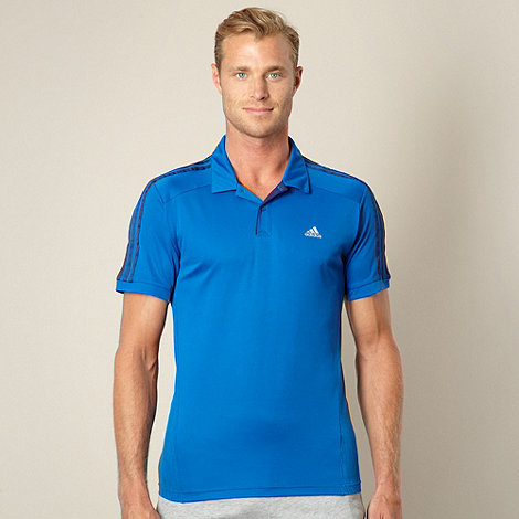 adidas - Blue essential polo shirt
