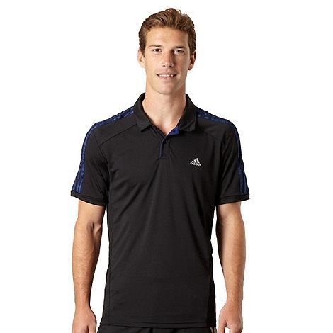 adidas - Black essential polo shirt
