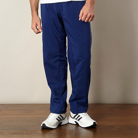 adidas - Navy woven jogging bottoms