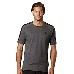 adidas - Black 'ClimaCool+' t-shirt