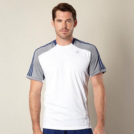 adidas - White +ClimaCool++ t-shirt