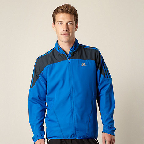 adidas - Blue wind jacket