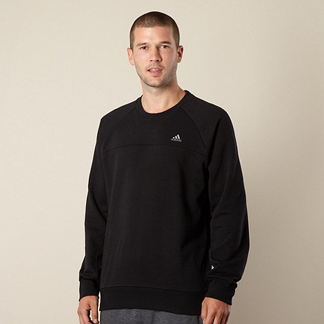 adidas - Black crew neck sweatshirt
