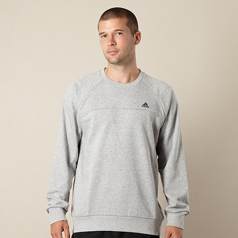 adidas - Grey crew neck sweatshirt