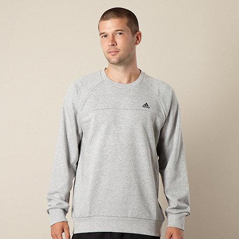 adidas - Grey crew neck sweatshirt