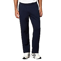 adidas - Navy sweat jogging bottoms