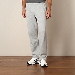 adidas - Grey sweat jogging bottoms