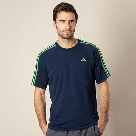 adidas - Navy logo crew neck t-shirt