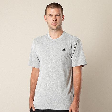 adidas - Grey marled t-shirt