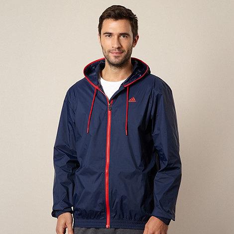 adidas - Navy rain jacket