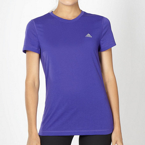 adidas - Purple +Prime+ t-shirt