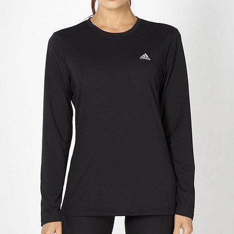 adidas - Black +Prime+ long sleeved top