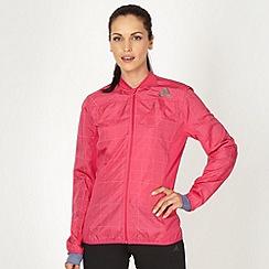 adidas - Pink reflective running jacket