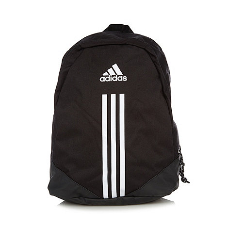 adidas - Black logo backpack