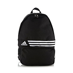 adidas - Black brand striped backpack