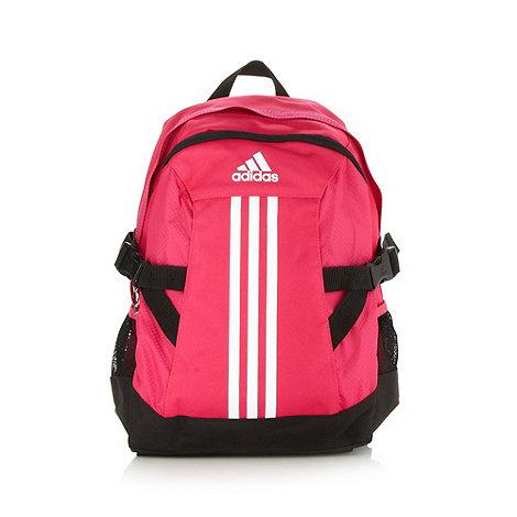 adidas - Pink logo backpack