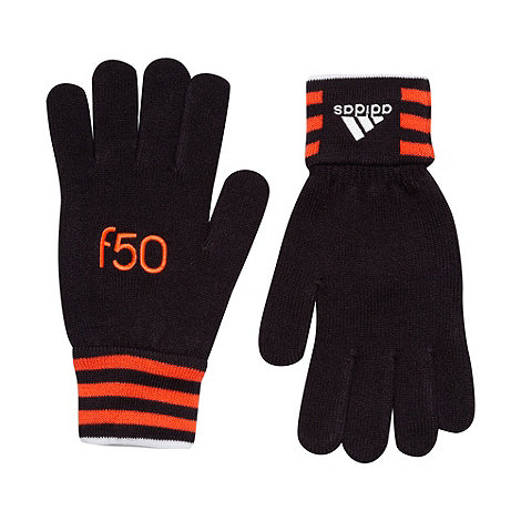 adidas - Black +F50+ gloves