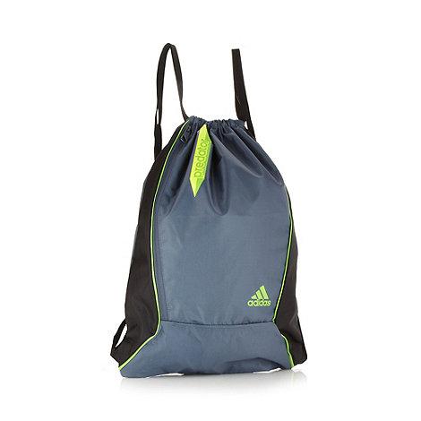 adidas - Grey +Predator+ gym bag