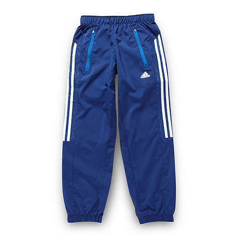adidas - Boy+s navy jogging bottoms