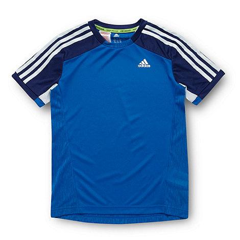 adidas - Boy+s blue essential t-shirt